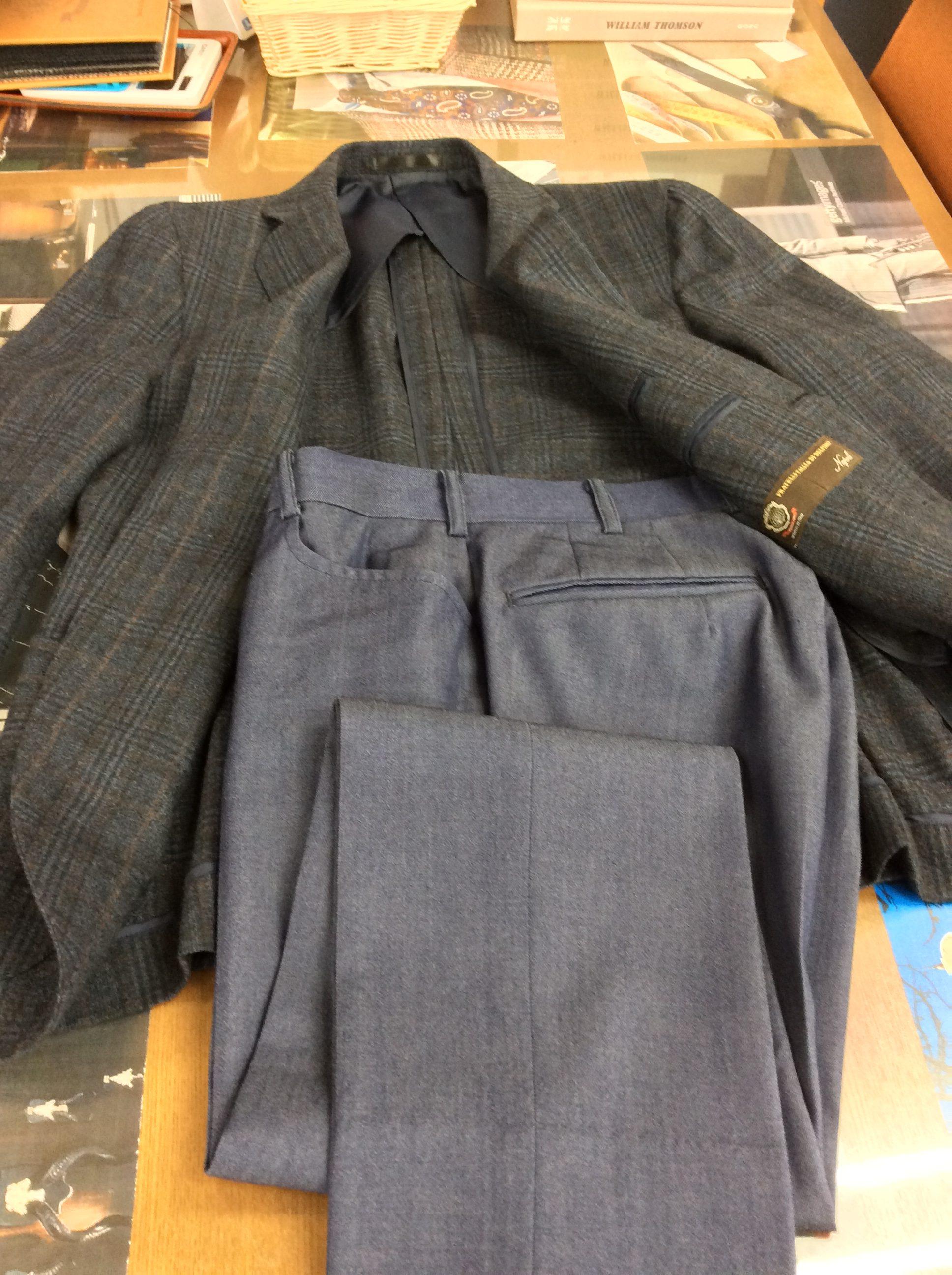 ジャケット、パンツ